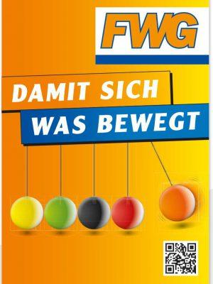 """Standard Hohlkammerplakat """"Damit sich was bewegt"""""""